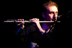 Mike on flute - Photos © John Watson/jazzcamera.co.uk