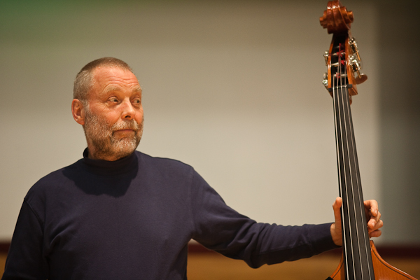 Dave Holland in Birmingham (Picture Russ Escritt)