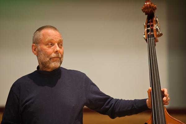 Dave Holland in Birmingham (Picture Russ Escritt)