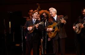 The Del McCoury Band help celebrate