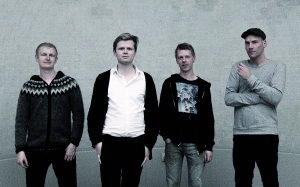 Soren Gemmer (second left) and his band.