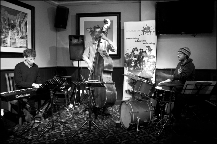 Eyes Shut Tight at The Red Lion on Friday evening. Picture © Garry Corbett