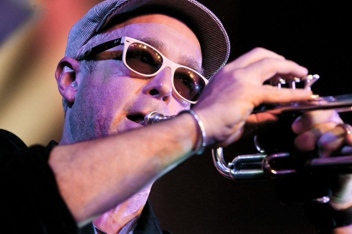 Dave Douglas. Photo © John Watson/jazzcamera.co.uk  - for John's Cheltenham gallery click on the picture.