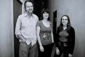 Tom Rainey, Ingrid Laubrock and Mary Halvorson - in town tomorrow night.
