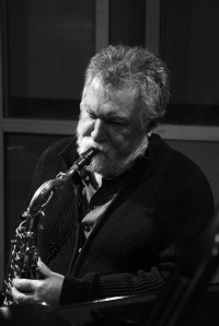 Evan Parker (Photo: Caroline Forbes)