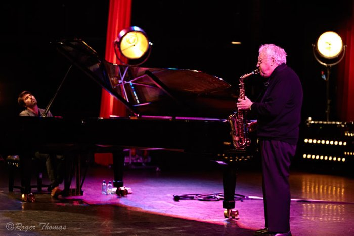 Dan Tepfer and Lee Konitz (Photo: Roger Thomas)