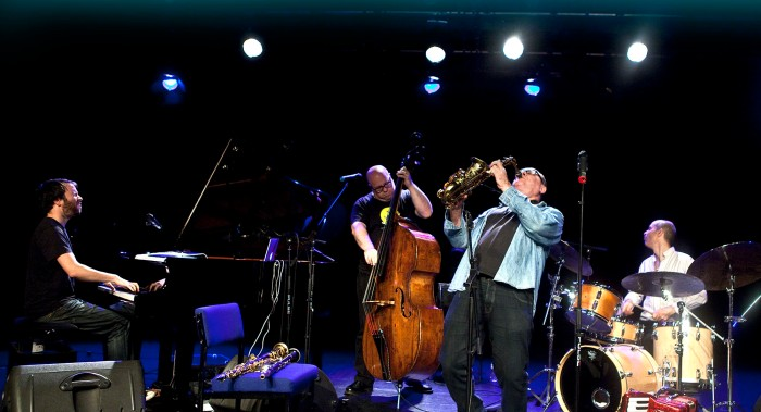 Gilad Atzmon & the Orient House Ensemble at the Arena Theatre. (Photo © John Watson/jazzcamera.co.uk