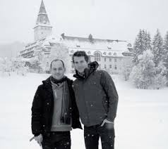 Yuri Goloubev and Gwilym Simcock at Schloss Elmau