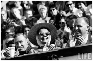 The jazz audience we want? Monterey in 1958, captured by Nat Farbman.