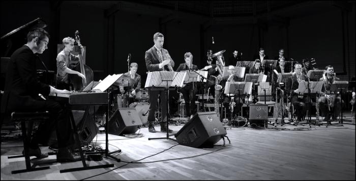 The Jonathan Silk Big Band at the CBSO Centre (Photo © Garry Corbett)