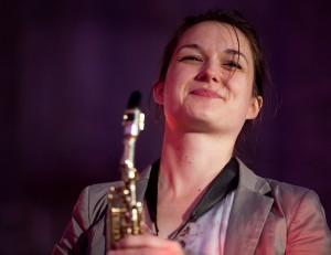 Trish Clowes (Photo © John Watson/jazzcamera.co.uk)