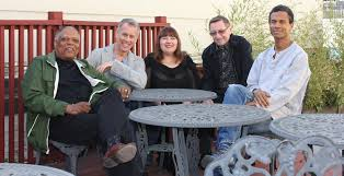 The quintet: Billy Hart, Joe Locke, Yelena Eckemoff, George Mraz and Mark Turner.