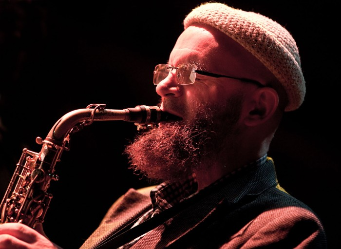 Mike Williams at the CBSO Centre (Photo © John Watson/jazzcamera.co.uk)
