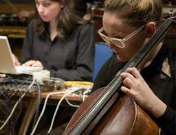 Electronics and classical instruments meet in the Frontiers Festival