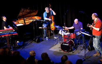The Impossible Gentlemen at the Arena Theatre last night (Photo © John Watson/jazzcamera)
