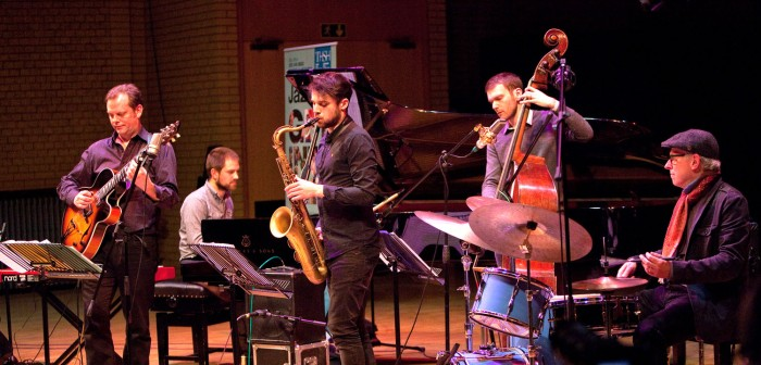 The Jeff Williams Quintet at the CBSO Centre (Photo © John Watson/jazzcamera.co.uk)