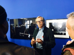 Photographer and founder of ACT music, Siggi Loch, was our guide at the Wesserburg Museum