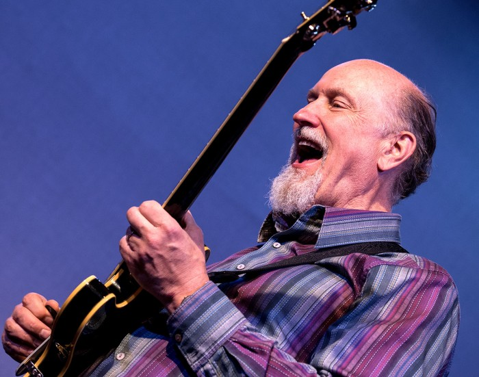 John Scofield with the Pablo Held Trio (Photo © John Watson/jazzcamera.co.uk)