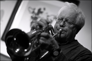 Henry Lowther is at the JQ15JAZZ Legends Festival (Photo ©  Garry Corbett)