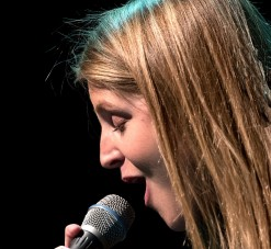 Lauren Kinsella, who will be in Birmingham with Snowpoet on Friday 13 May (Photo © John Watson/jazzcamera.co.uk)