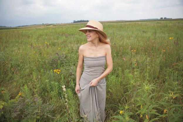 Maria Schneider takes inspiration from the prairie landscape (Photo © Brienne Lermitte)