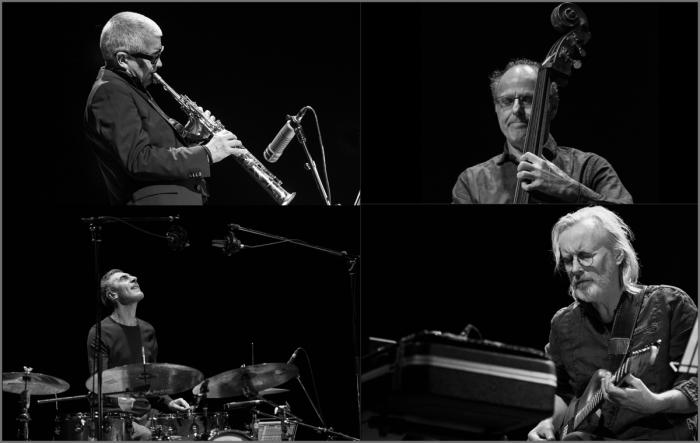 The Andy Sheppard Quartet (Photo © Garry Corbett)