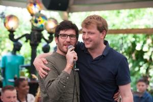 Richard Foote and Jonathan Silk (Photo © Iza Korsak)