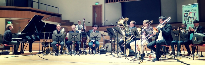 The Mike Fletcher Jazz Orchestra at the Adrian Boult Hall, Birmingham, 16 April 2016