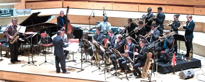 Birmingham Conservatoire Jazz Orchestra with special guests (Photo © John Watson/jazzcamera.co.uk)