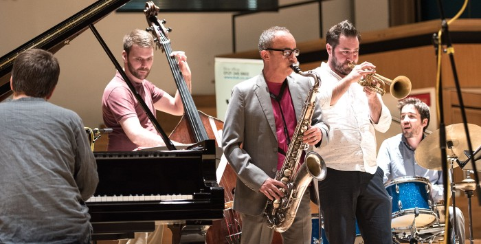 Julian Argüelles' Tetra with Percy Pursglove (Photo © John Watson/jazzcamera.co.uk)