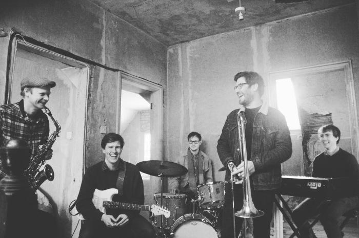 The Ben Lee Quintet - Chris Young, Ben Lee, Euan Palmer, Richard Foote and David Ferris.