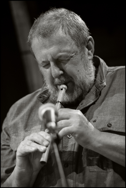 Paul Dunmall (Photo © Garry Corbett)