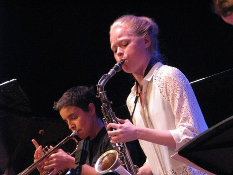 Susana Santos Silva and Mette Rasmussen (Photo © Henning Bolte)