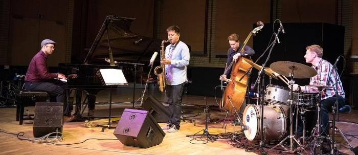 The Embodied Hope Quartet (Photo © John Watson/jazzcamera.co.uk)