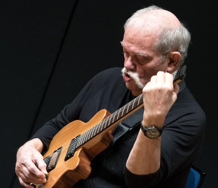 John Abercrombie (Photo © John Watson/jazzcamera.co.uk)